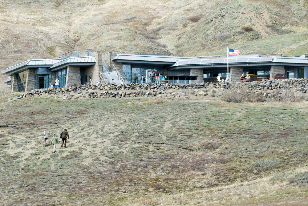 National Park Service Eielson Visitors Center